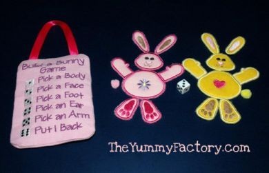 Build a Bunny Dice Game