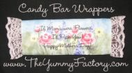 Flower Candy Bar Wrapper Mother's Day