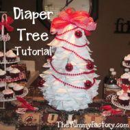 Diaper Tree Tutorial