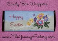 Easter Ducks Candy Bar Wrapper