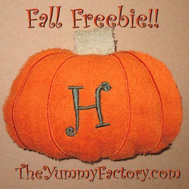 Pumpkin in the hoop