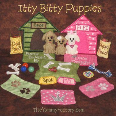 Itty Bitty Puppies