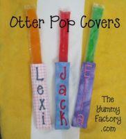 Otter Pop Cover /  Holder