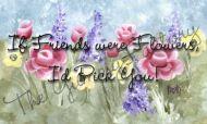 Flower Candy Bar Wrapper If Friends