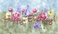 Flower Candy Bar Wrapper Happy Birthday