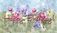 Flower Candy Bar Wrapper Happy Birthday
