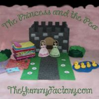Princess and the Pea with Castle