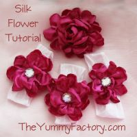 Fancy Silk Flower Tutorials