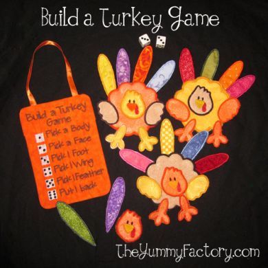 Build a Turkey Dice Game