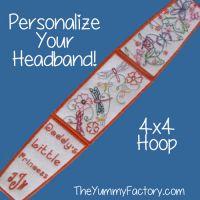 Headband 4x4 size