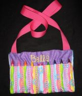 Crayon Purse with Hearts 6x10 hoop