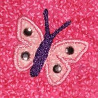 Little Applique Butterfly